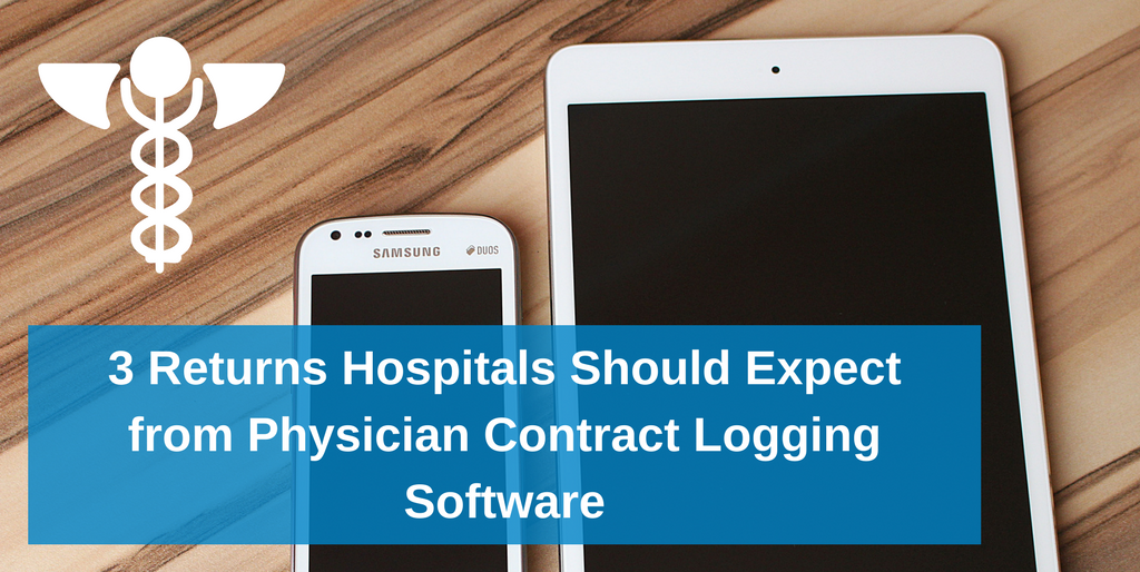 Ludi 3 Returns Hospitals Should Expect from Physician Contract Logging Software
